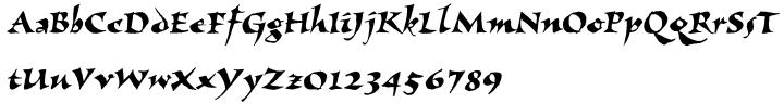 Visigoth™ Font Sample