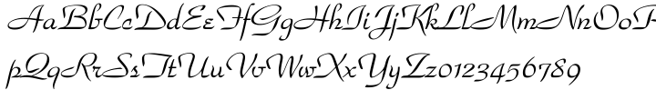 Park Avenue™ Font Sample