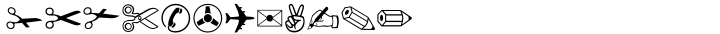ITC Zapf Dingbats® Font Sample