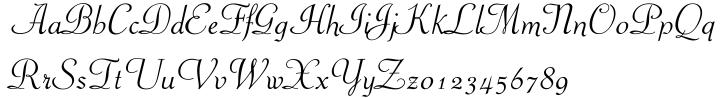 Piranesi™ Font Sample