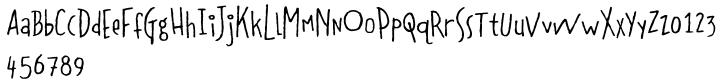 Coffeedance™ Font Sample