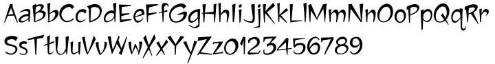 Jawbox Font Sample