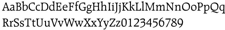 Raleigh Font Sample