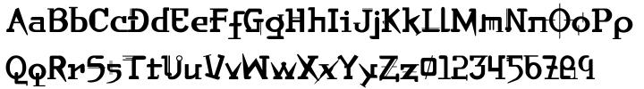 Orbital Font Sample
