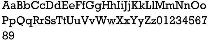 Rockwell® Font Sample