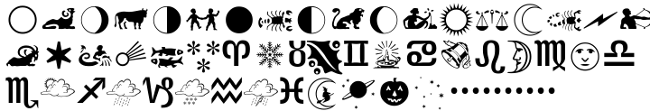 Almanac™ Font Sample