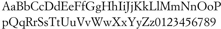 Simoncini Garamond™ Font Sample