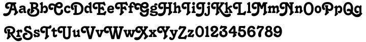 Tango™ Font Sample