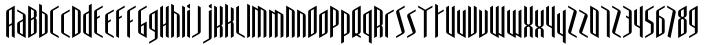 Lyonette NB™ Font Sample