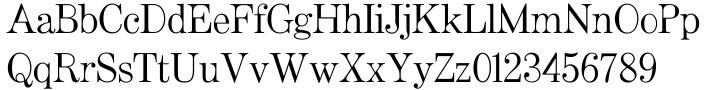 Artefact™ Font Sample