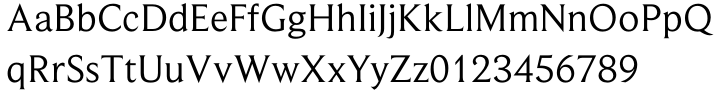 Beaufort® Font Sample