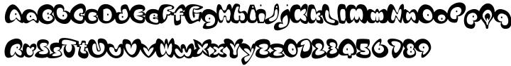EF Afrodite™ Font Sample