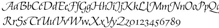 EF Artemisia™ Font Sample