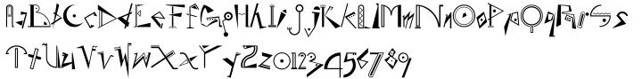 EF Beat™ Font Sample