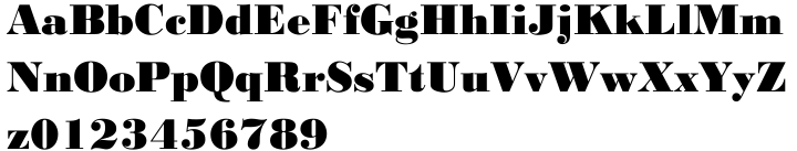 EF Bodoni No 1™ Font Sample