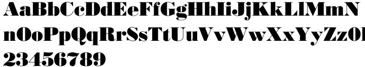 EF Bodoni No 2™ Font Sample