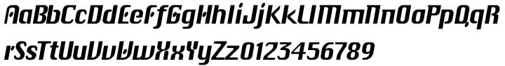 EF CHIC.go™ Font Sample