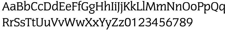Congress EF™ Font Sample
