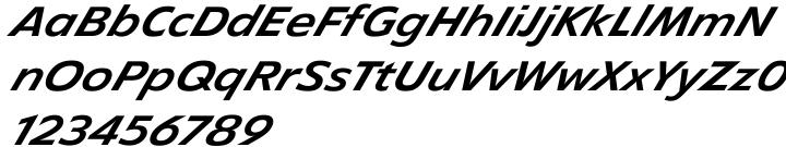 EF Diamanti Diagonal Font Sample