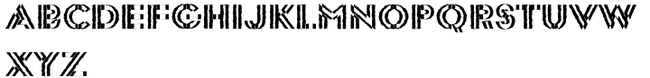 EF DoublePac™ Font Sample