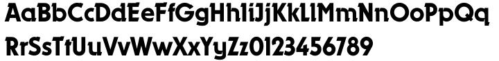 Dynamo EF Font Sample