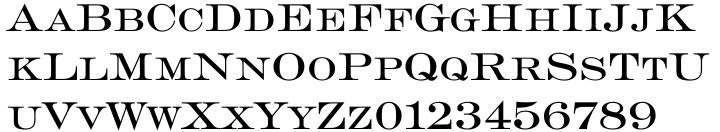 Engravers EF Font Sample