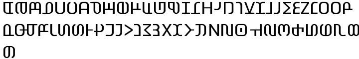 EF Flamingo™ Font Sample