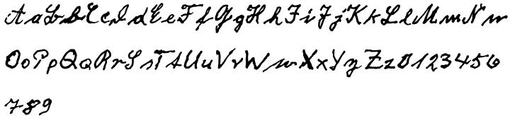 EF Fritz Dittert™ Font Sample