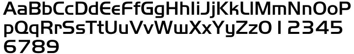 Handel Gothic EF™ Font Sample