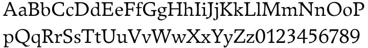 Breughel® Font Sample
