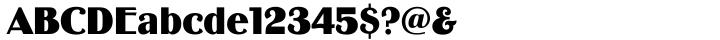 Binner Font Sample