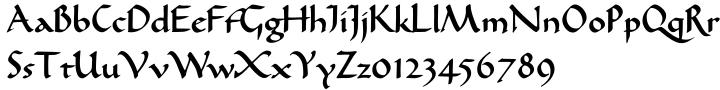 EF Karolinger™ Font Sample