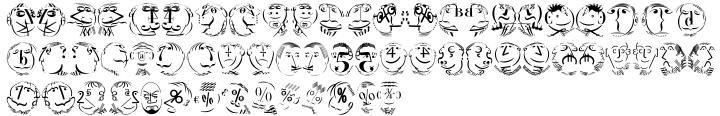 EF KLTypeFaces™ Font Sample
