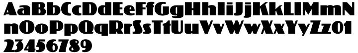 Koloss EF™ Font Sample
