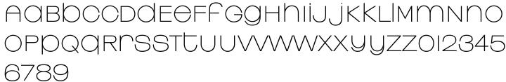 Linear EF Font Sample
