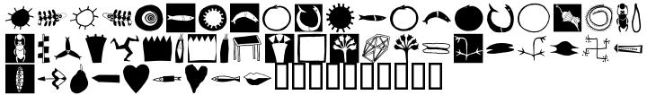 EF Imagination Black™ Font Sample