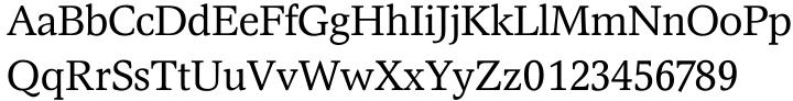 Magna EF™ Font Sample