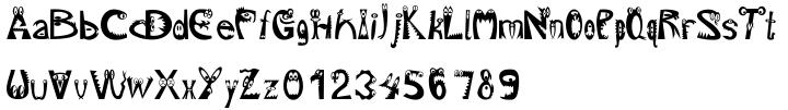 EF MON.ster™ Font Sample
