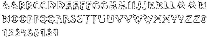 EF Ninive™ Font Sample