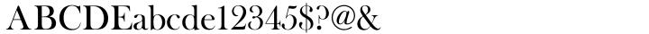 Baskerville Old Face Font Sample