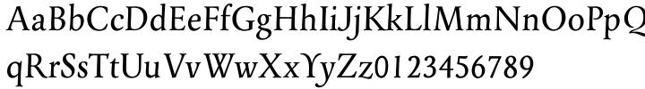 EF Panther™ Font Sample
