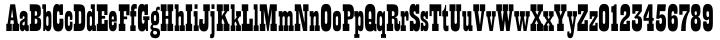 Playbill EF Font Sample