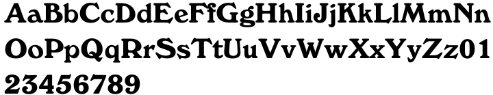 Windsor™ Font Sample