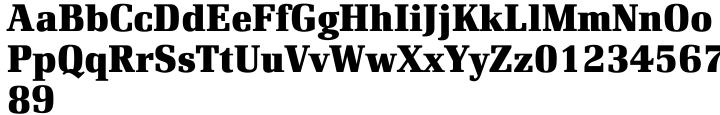 Renault EF Font Sample