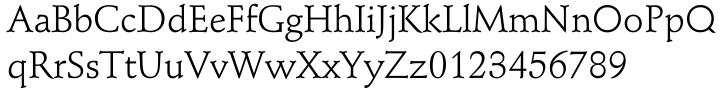 Schneidler® EF Font Sample
