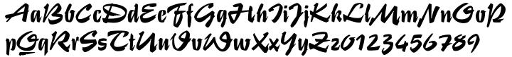 Stentor EF™ Font Sample