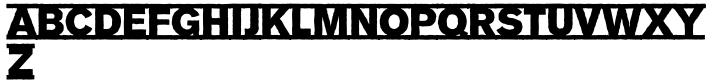 EF Tempodrom™ Font Sample