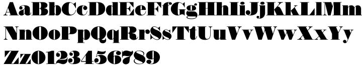 Thorowgood EF Font Sample