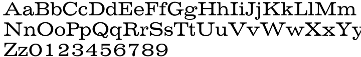 Volta® EF Font Sample