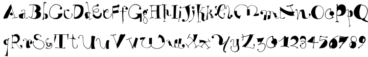 EF WhyNot™ Font Sample
